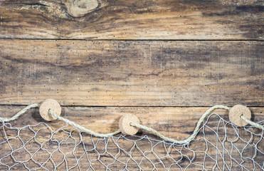 Fischer Netz Hintergrund Nautisch Maritim Dekoration