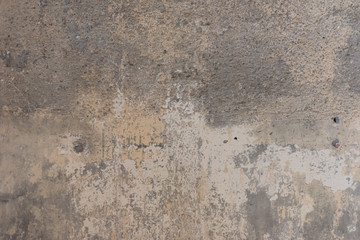 Fotobehang Oude vuile getextureerde muur Old concrete or cement wall texture and background, Bare cement wall and floor for interior and exterior loft style