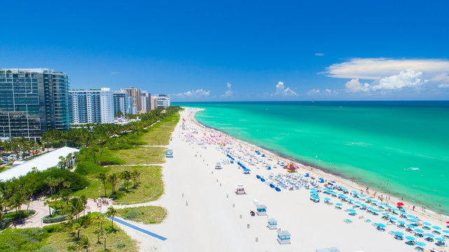 Miami Beach, South Beach, Florida. USA.