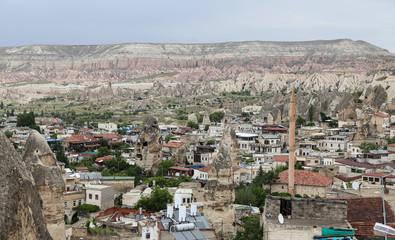 Goreme Town in Cappadocia