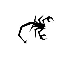 Scorpion Logo Template Vector illustration