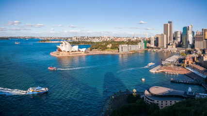 View of Sydney Harbour in Australia