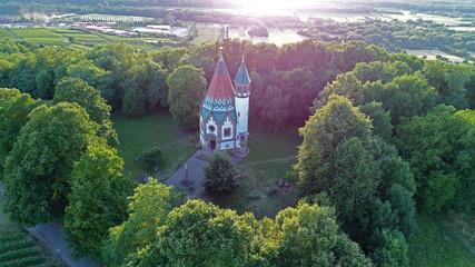 Letzenbergkapelle in der Abendsonne