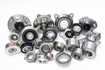 Group cars bearings and rollers