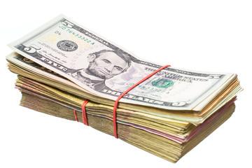 US dollar and the Ukrainian hryvnia