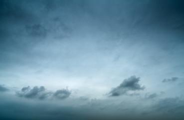 Sky and dark clouds
