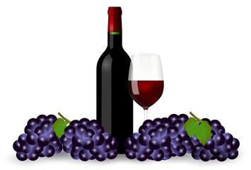 ワイン ぶどう グラス 背景