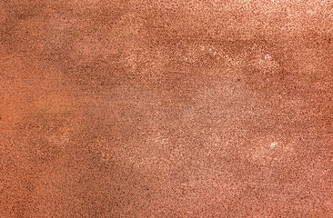 Copper stucco wall. Antique bronze. relief, rich bronze texture for background. Texture, copper and stained