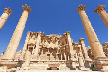Nymphaeum in Jerash Jordan