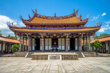 Wall Mural - Taipei Confucius Temple in dalongdong, taipei, taiwan