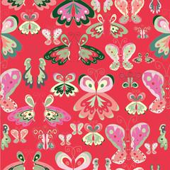 Red Buterflies