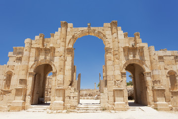 Jerash entrance gate