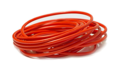 Red wire twisted