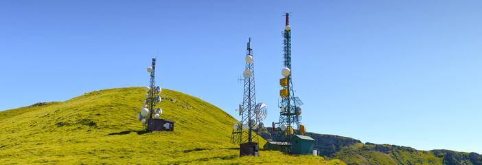 Antenne con ripetitori radio