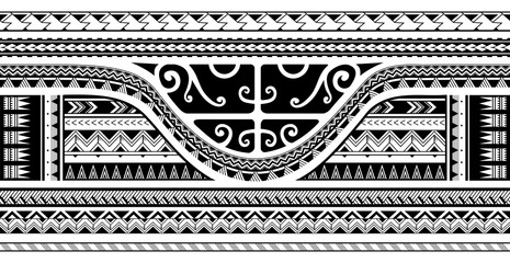 Tribal sleeve design
