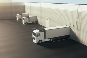 Fototapeta Shipping concept