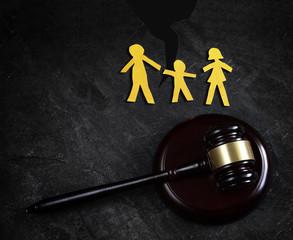 Family law split