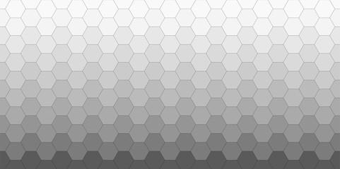 Seamless Grey Hexagons