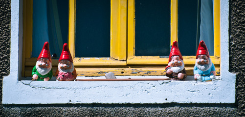 nains de fenêtre