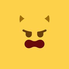 Emoji Tile Evil
