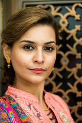 Traditional Pakistani woman, ethnic, diverse, portrait
