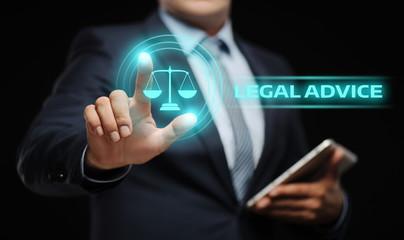 Legal Advice Law Expert  Business Internet Concept