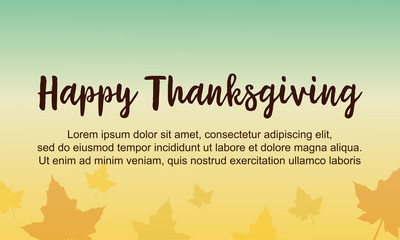 Happy Thanksgiving card style collection