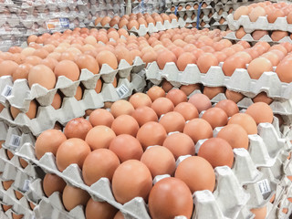Egg in the market