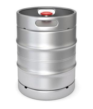 Metal beer keg