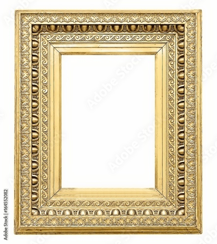 Gold frame for paintings, mirrors or photos\