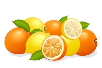 lemons & oranges mix