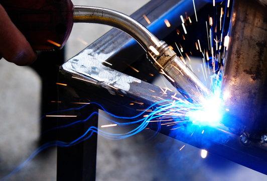 Argon welding