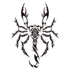 tribal scorpion