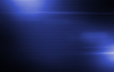 Glowing Blue Stripes Background