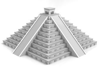 Maya Pyramid - 3D
