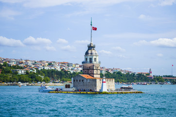 Maiden's Tower and Bosphorus