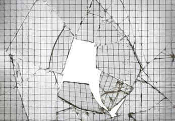 Reinforced Broken Glass