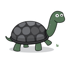 Turtle Icon, Cartoon