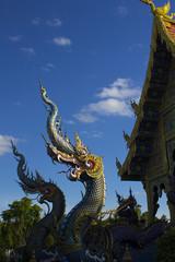 チェンライの青い寺 ワット ロンスアテン