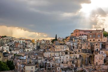 Matera, landscape of Sasso Caveoso