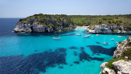 Bucht Macarella auf Menorca in HD
