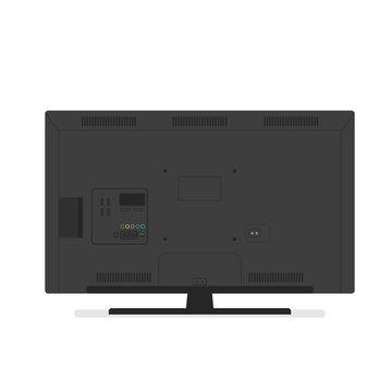 tv back side