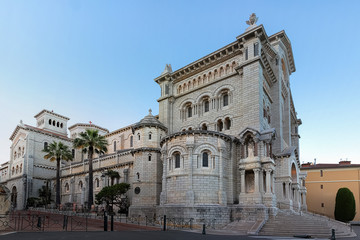 Wall Mural - View of Saint Nicholas Cathedral in Monaco.