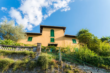 Vibrant Italian villa overlooking Lake Como, Italy