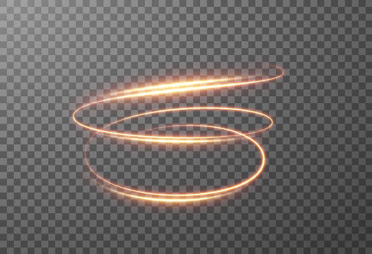 Shining spiral transparent glow effect. Vector eps10.