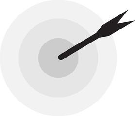 taget goal arrow
