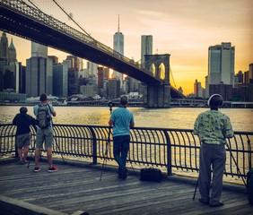 Un tramonto di passione fotografica