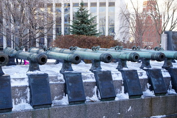 Two-foot cannon foundry kings of the Moscow Kremlin.