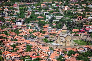 Great church of jvari or jvari monastery is the georgian orthodox monastery located near mtskheta.