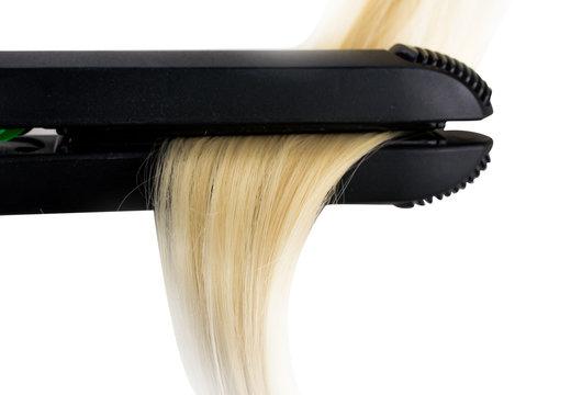 hair straightener and hair